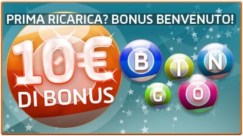 Gioco Digitale bingo online: bonus di 10 euro