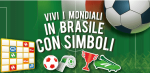 I Mondiali Brasile 2014 si giocano su Tombola bingo online