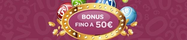 Sisal bingo: bonus esclusivo 50 euro, codice promo lotteriebingo-50